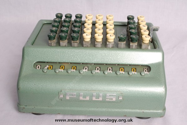 COMPTOMETER CALCULATOR 509/S, 1950's