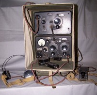 Image of WWII WIRELESS SET No18. Mk 3, 1940's