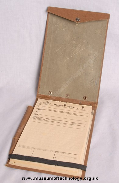 WWII LOG BOOK