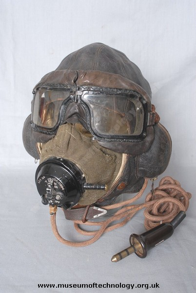 WWII FLYING HELMET TYPE 'B MASK TYPE 'D' and  RCAF GOGGLES, 1940