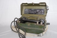 Image of WWII MILITARY  FIELD TELEPHONE TYPE