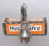 Image of WESTERN ELECTRIC WECO VALVE, 1921