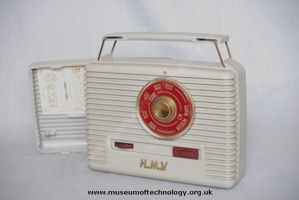 HMV MODEL 1410G HYBRID WIRELESS, 1958