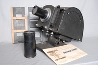 Image of JOHNSONS NO 12 PROJECTOR OPTISCOPE, 1940's