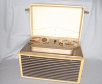 Image of SIMON SOUND SP/2 REEL TO REEL TAPE RECORDER, 1957