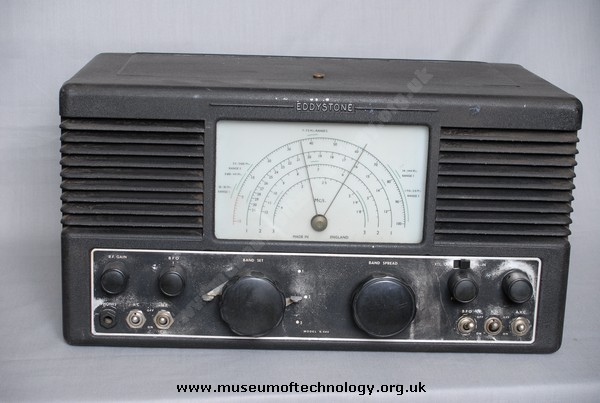 EDDYSTONE COMMUNICATION RECEIVER S640, 1947