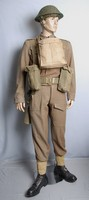 Image of WWII  BATTLEDRESS  AND WEBBING SET, 1937