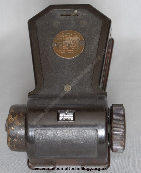 EARLY THERMOSTAT, 1930's