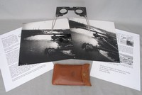 Image of WW11 STEREOSCOPE AND PHOTOS, 1944