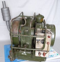 Image of CIVIL DEFENCE CORPS GENERATOR, 1960's