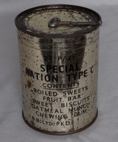 Image of WWII RATION TIN TYPE 'C'