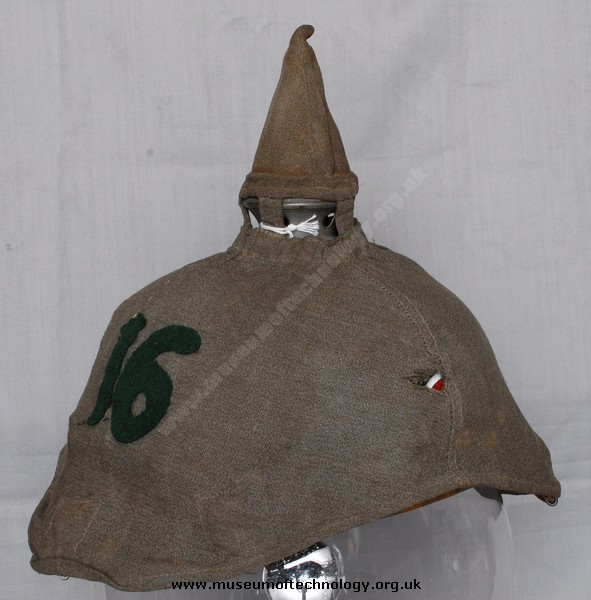 WW1 GERMAN COVER FOR PICKELHAUBE