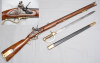 Image of BAKER RIFLE/MUSKET AND BAYONET, 1803
