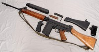 Image of BRITISH ARMY RIFLE FN L1A1, 1960's