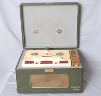 Image of ELIZABETHAN TAPE RECORDER DELUX WITH COLLARO DECK, 1961