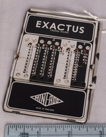 Image of EXACTUS POCKET CALCULATOR, 1955