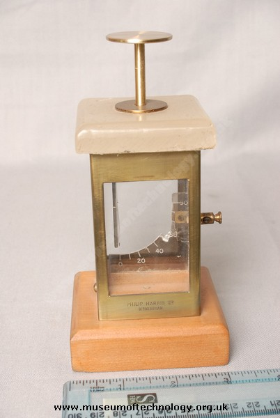 PHILIP HARRIS ELECTROSCOPE, 1890's