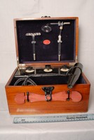 Image of SCHALL & SONS MEDICAL COIL WITH GLASS TOOLS, 1920's