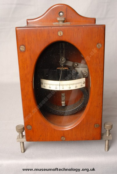EARLY MOVING COIL METER, 1900's