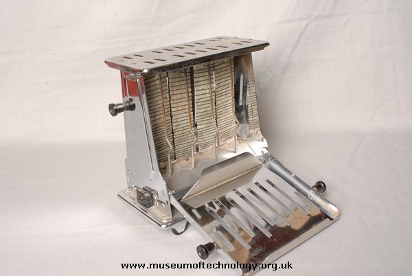 PREMIER CHROME TOASTER, 1930's