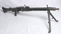 Image of WWII MG 42 GERMAN  LIGHT MACHINE GUN, 1942