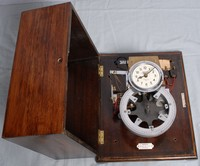 Image of NATIONAL TIME RECORDERS  FACTORY BELL TIMER AND CLOCK, 1950's