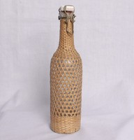 Image of WWII GLASS BOTTLE MADE IN DRESDEN