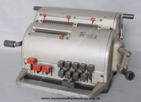 PRECISA MECHANICAL CALCULATOR, 1950's