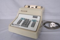 Image of ADDO-X ELECTRIC ADDING MACHINE, 1960's