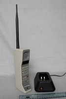 Image of MOTOROLA DYNA TAC MOBILE PHONE 8000S, 1986
