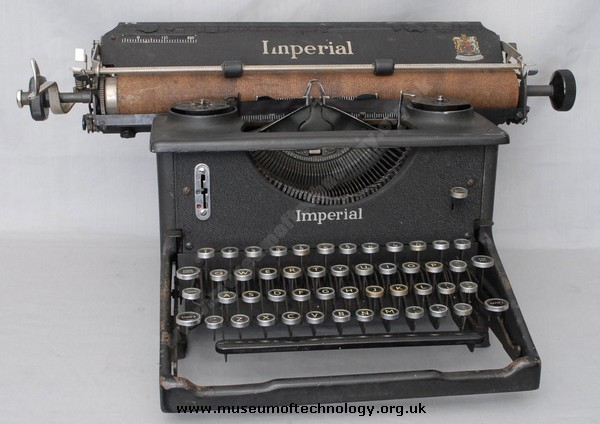 IMPERIAL MODEL 58 TYPEWRITER, 1940's