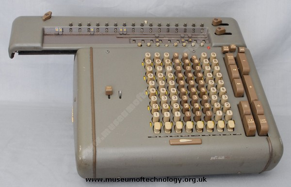FRIDEN ELECTRO MECHANICAL CALCULATOR TYPE CW8, 1960's