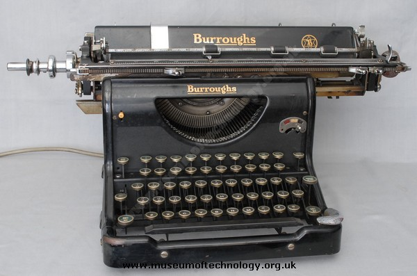 BURROUGHS STANDARD ELECTRIC TYPEWRITER  of 1932