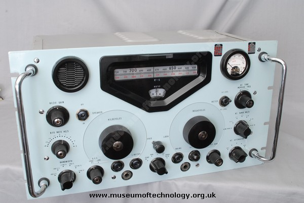 RACAL RA17L RECEIVER, 1954