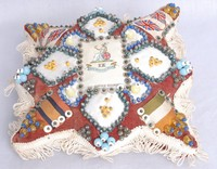 Image of SWEETHEART PIN CUSHION 9TH NORFOLK REGIMENT