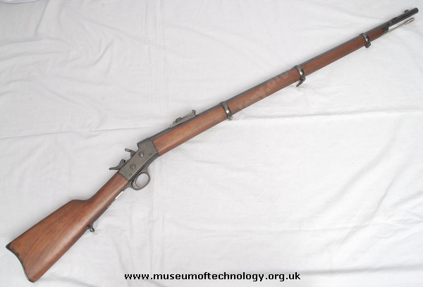 REMMINGTON ROLLING BLOCK RIFLE, 1870's