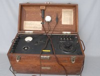 Image of WESTERN ELECTRIC AUDIOMETER 2-A, 1920's