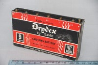 Image of DRYDEX TYPE 1001 GRID BIAS BATTERY, 1940's