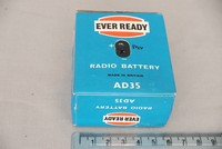 Image of EVER READY AD35 RADIO BATTERY, 1950's