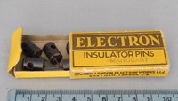 Image of ELECTRON INSULATOR PINS, 1940's