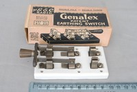 Image of GENELEX EARTHING SWITCH, 1940's
