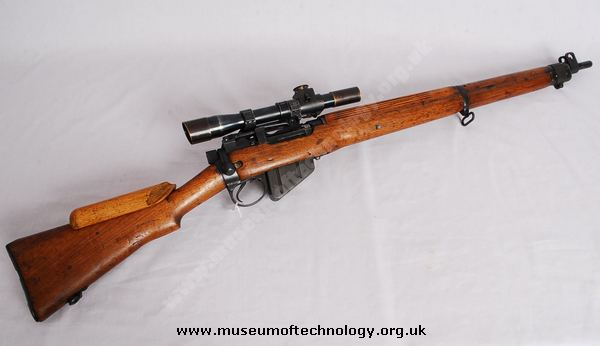 ENFIELD No 4T SNIPER RIFLE, 1943