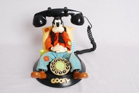 Image of WALT DISNEY CHARACTER PHONE OF GOOFY, 1990's