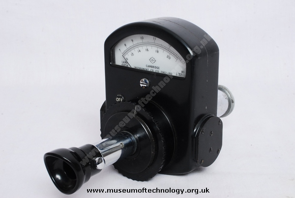 OVEN TEMPERATURE MEASURING METER, 1950's