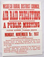 Image of POSTER 'AIR RAID PRECAUTIONS', 1937