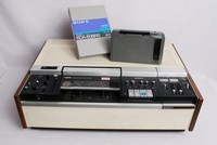 Image of SONY U-MATIC VIDEO CASSETTE RECORDER MODEL VO-1810, 1970's