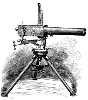 early machine guns